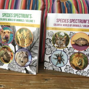 Santa Fe Marketplace Species Spectrum's Colorful World of Animals Set of 2 Volumes