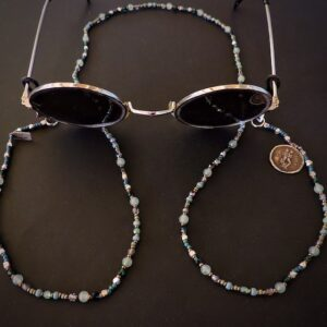 "Santa Fe Marketplace ""Gemini""  Chili Rose Eyeglass Jewelry"