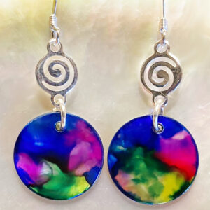 Santa Fe Marketplace Multi-color Kalaido Earring