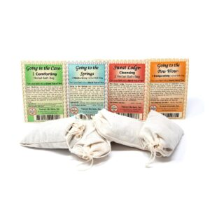 Santa Fe Marketplace Herbal Bath Soaks by Nuwati Herbals