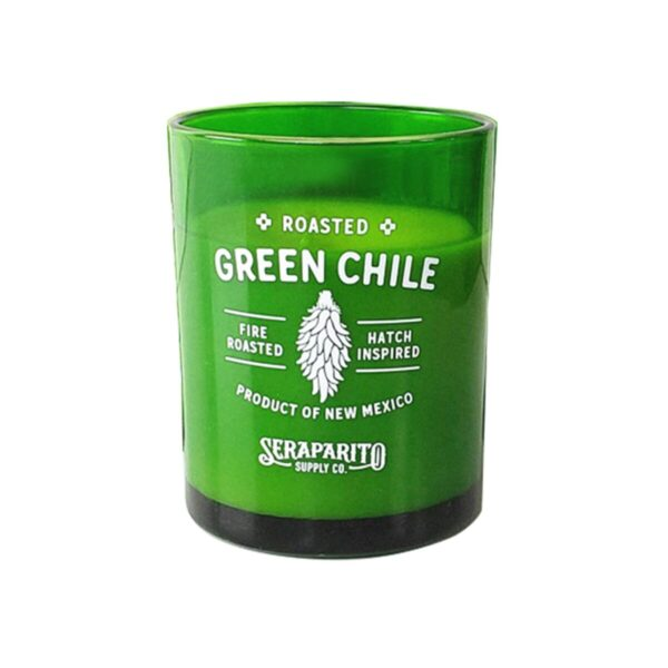 Santa Fe Marketplace New Mexico Green Chile Candle