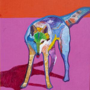 Santa Fe Marketplace Canis Lupus/Wolf by John Nieto