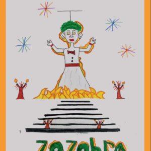 Santa Fe Marketplace 2020 Zozobra Kids Poster