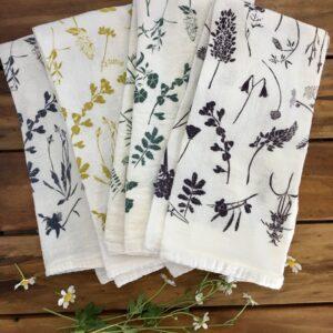 Santa Fe Marketplace Wildflower Mix Cotton Napkin Set