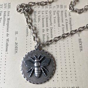 Santa Fe Marketplace Josephine's Bee Necklace