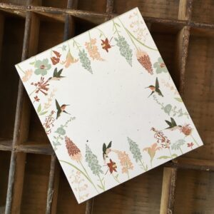 Santa Fe Marketplace Hummingbird Mini Notepad