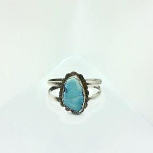 Santa Fe Marketplace Bracelet with Turquoise Stone