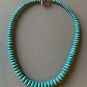 Santa Fe Marketplace Simply Turquoise Necklace