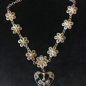 Santa Fe Marketplace Filigree Necklace