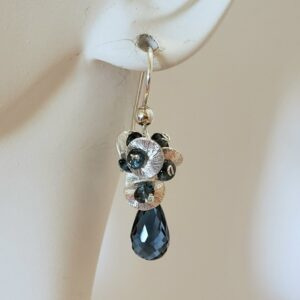"Santa Fe Marketplace ""Winter Raindrop"" Earrings"