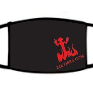Santa Fe Marketplace Zozobra Mask: Red