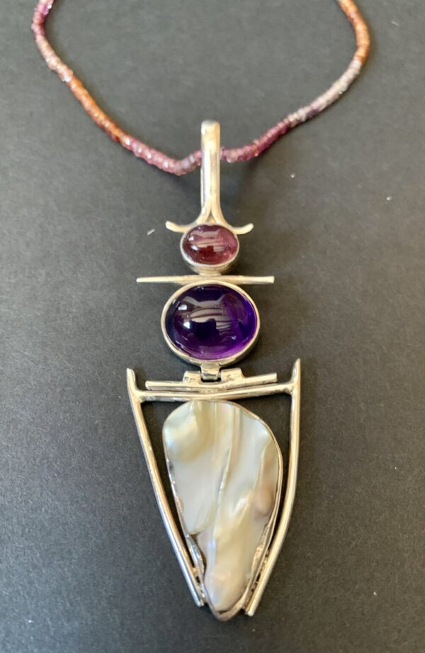 Santa Fe Marketplace Sapphires and More Necklace