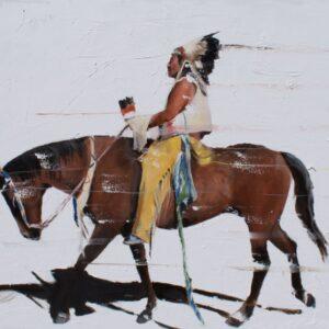 Santa Fe Marketplace Del Curfman – Vanishing Series: Forward Moving
