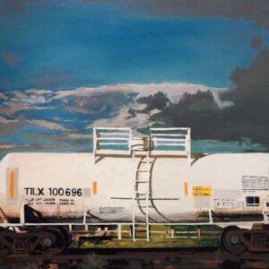 Santa Fe Marketplace Charlie Meckel – White Tank Car TILX