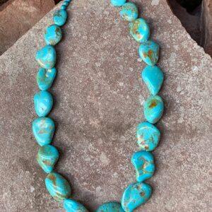 Santa Fe Marketplace Nacozari Turquoise Necklace