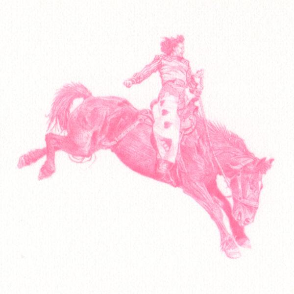 Santa Fe Marketplace Clayton Porter – Untitled (Bronc Rider #4339), 2021