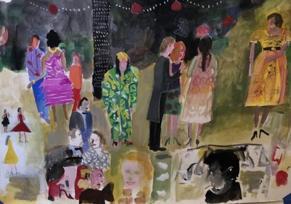 Santa Fe Marketplace Mark Mulhern – Fabulous Party, 2021