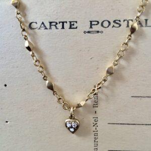 Santa Fe Marketplace Tiny Heart Necklace