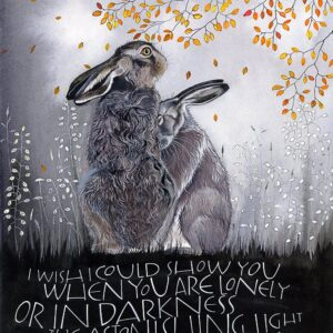 Santa Fe Marketplace Sam Cannon Astonishing Light of Your Own Being Quote Greeting Card