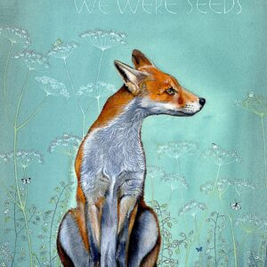 Santa Fe Marketplace Sam Cannon They Didn't Know We were Seeds Quote Greeting Card