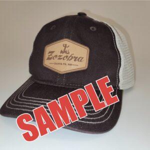 Santa Fe Marketplace Leather Patch Cap