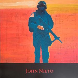 Santa Fe Marketplace Soldier – Poster