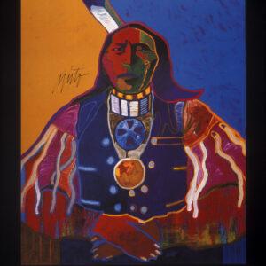 Santa Fe Marketplace Ponca Chief – Poster