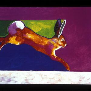 Santa Fe Marketplace Rabbit – Poster
