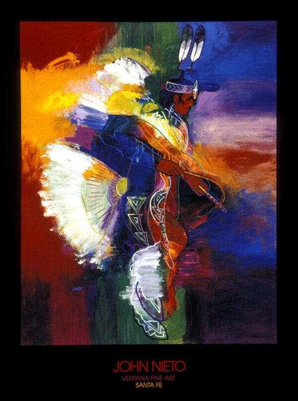 Santa Fe Marketplace Fancy Dancer – Poster