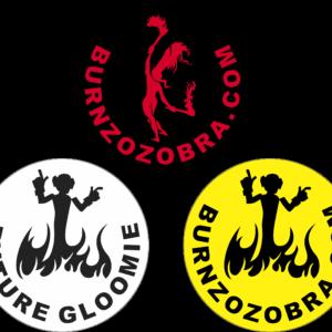 Santa Fe Marketplace Zozobra Stickers – 9 Sticker Pack